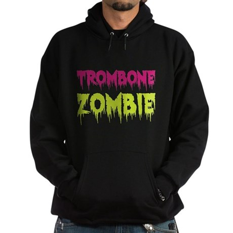 Trombone Zombie Hoodie (dark)