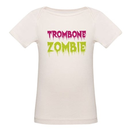 Trombone Zombie Organic Baby T-Shirt