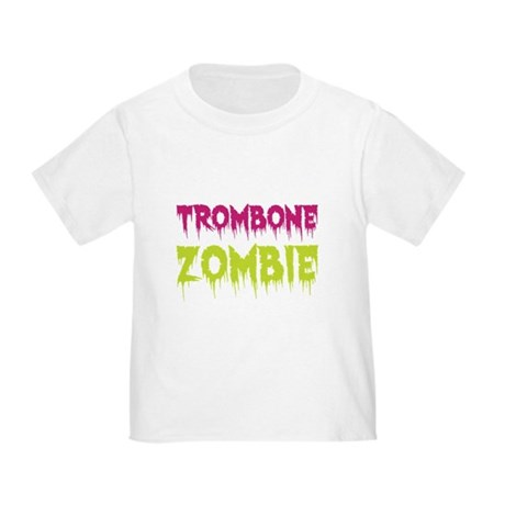 Trombone Zombie Toddler T-Shirt