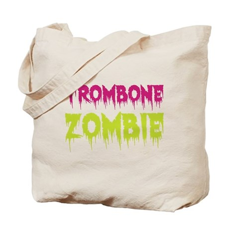 Trombone Zombie Tote Bag