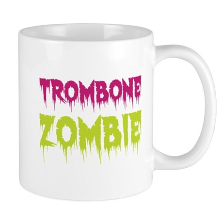 Trombone Zombie Mug