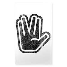Live Long & Prosper Hand Decal