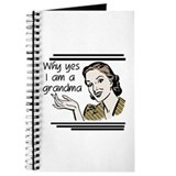 Retro Grandma Journal
