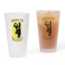 power lineman electrician Drinking Glass