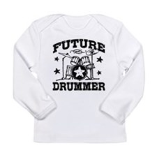 Future Drummer Long Sleeve Infant T-Shirt