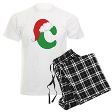 Christmas Letter C Alphabet Pajamas