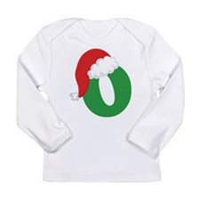 Christmas Letter O Alphabet Long Sleeve Infant T-S