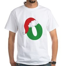 Christmas Letter O Alphabet Shirt