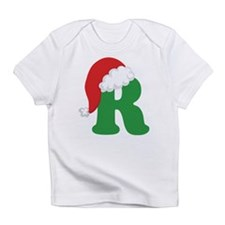 Christmas Letter R Alphabet Infant T-Shirt