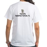 Osceola National Forest (Boy) White T-Shirt