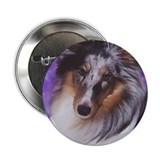 "Cool Shetland sheepdog 2.25"" Button (10 pack)"