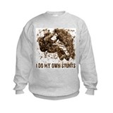 Rock Climbing My Own Stunts Sweatshirt