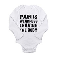Cool fitness design Long Sleeve Infant Bodysuit
