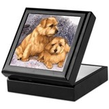 Norfolk Terrier Pair Keepsake Box