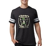 Naughty List Organic Women's Fitted T-Shirt (dark)