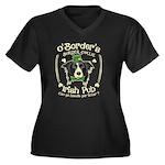 Naughty List Organic Women's Fitted T-Shirt