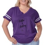 Naughty List Women's V-Neck T-Shirt