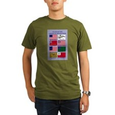 Colonial Flags T-Shirt