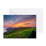 Lighthouse Sunset Greeting Cards (Pk of 20)