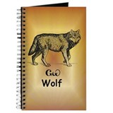 Young Cherokee Wolf Journal