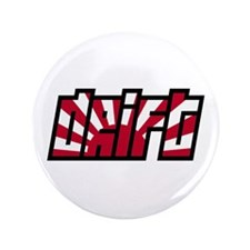 "Drift Drifting JDM Japan Race Car 3.5"" Button"