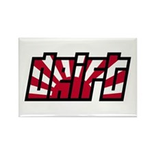 Drift Drifting JDM Japan Race Car Rectangle Magnet