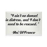Ani DiFranco QUOTE Rectangle Magnet