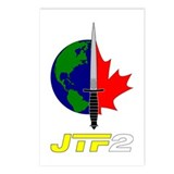 Joint Task Force 2 - Silver Postcards (Package of