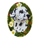 Dalmatian Ornament (Oval)