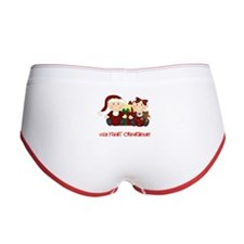 Twin Boy and Girl 1st Christmas Women's Boy Brief