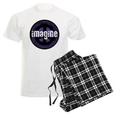 Imagine Peace Vintage Pajamas