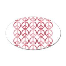Peace on Earth 22x14 Oval Wall Peel