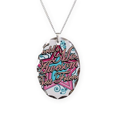 most awesome best friend necklace by tshirtregalia