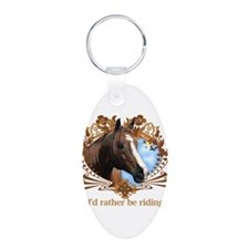 I'd Rather Be Riding, Horse Keychains