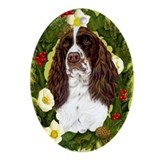 English Springer Spaniel Ornament (Oval)
