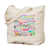 Twi Memories Pastel Tote Bag