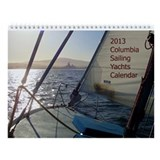 2013 Columbia Sailing Yachts Calendar