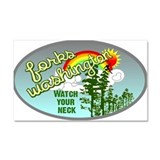 Forks Washington Twilight Car Magnet 20 x 12