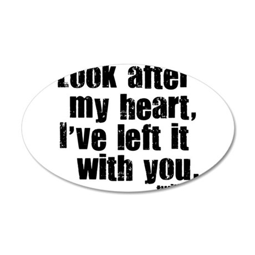 Twilight Movie Quote 22x14 Oval Wall Peel