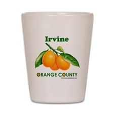 Irvine, Orange County Shot Glass
