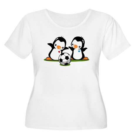I Like Soccer Women's Plus Size Scoop Neck T-Shirt
