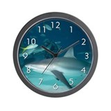 """Shark"" Wall Clock"