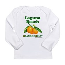 Laguna Beach, Orange County Long Sleeve Infant T-S
