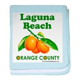 Laguna Beach, Orange County baby blanket