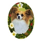 Papillon Ornament (Oval)