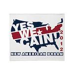 Herman Cain Throw Blanket