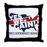 Herman Cain Throw Pillow
