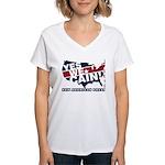Herman Cain Women's V-Neck T-Shirt