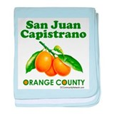 San Juan Capistrano, Orange County baby blanket