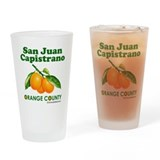 San Juan Capistrano, Orange County Drinking Glass